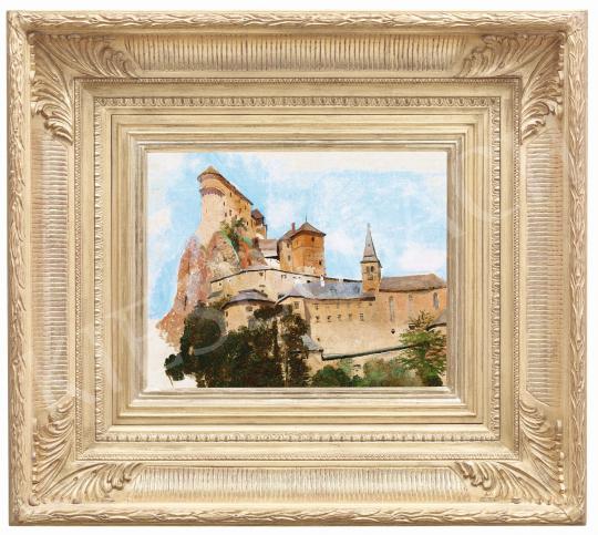 Mednyánszky László - Árva vára | 57. Téli Aukció aukció / 3 tétel