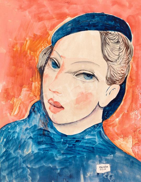 Kádár, Béla - Student in Paris | 57th Winter Auction auction / 4 Item