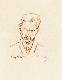 Dési Huber István - József Attila portréja