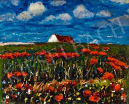 Koszta, József - Poppy Field
