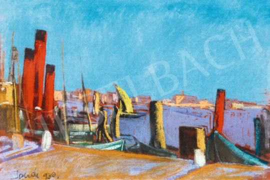 Jándi Dávid - Velence, 1930 | 57. Téli Aukció aukció / 28 tétel