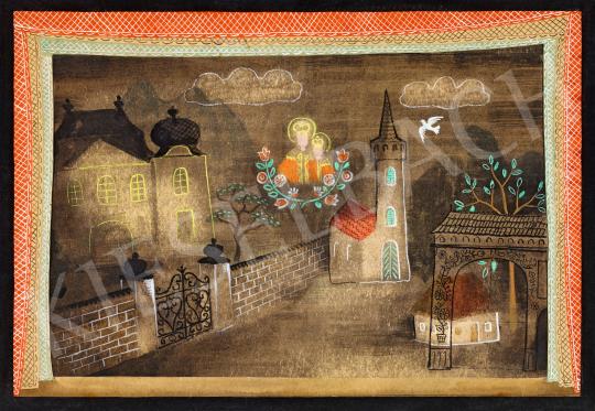 Pekáry István - Kompozíció Kodály Marosszéki táncok hátteréhez, 1930-as évek | 57. Téli Aukció aukció / 31 tétel