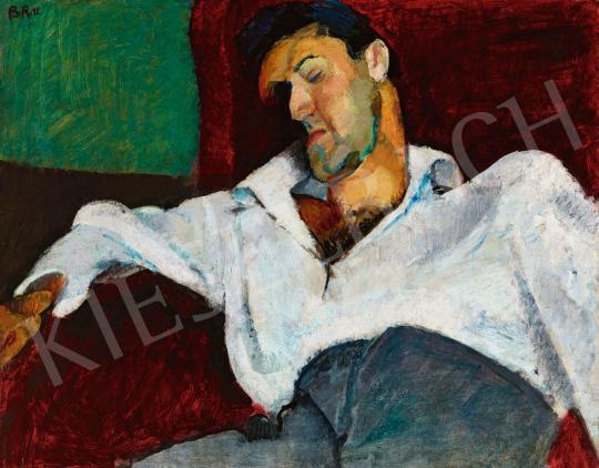 Berény Róbert - Weiner Leó portréja, 1911   57. Téli Aukció aukció / 32 tétel