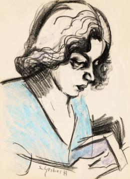 Scheiber Hugó - Olvasó nő (Füst Milánné)