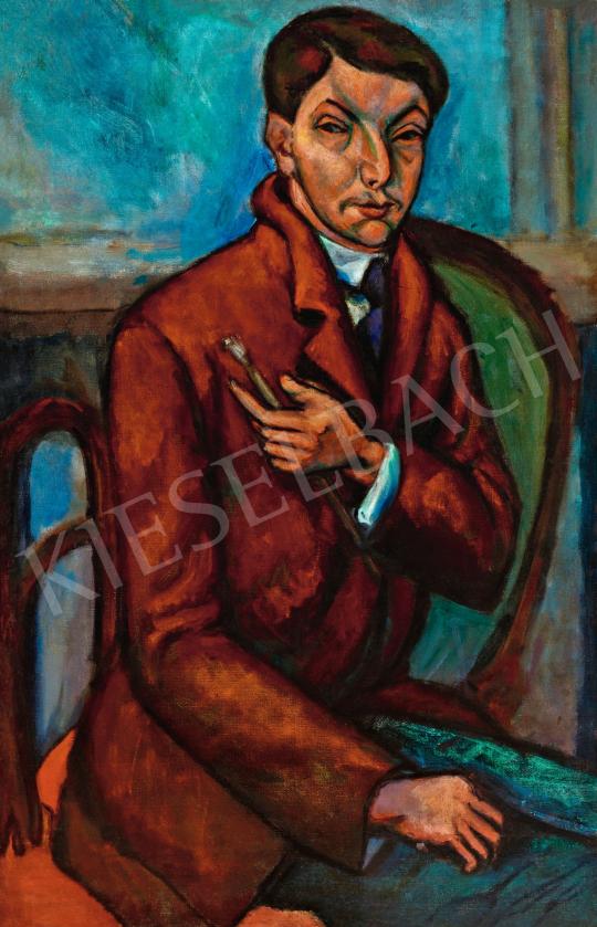 Tihanyi Lajos - Önarckép, 1910-es évek | 57. Téli Aukció aukció / 45 tétel