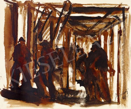 Jándi Dávid - Öntöde, 1922 | 57. Téli Aukció aukció / 46 tétel
