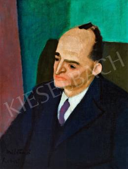 Berény, Róbert - Milán Füst's Portrait, c. 1928