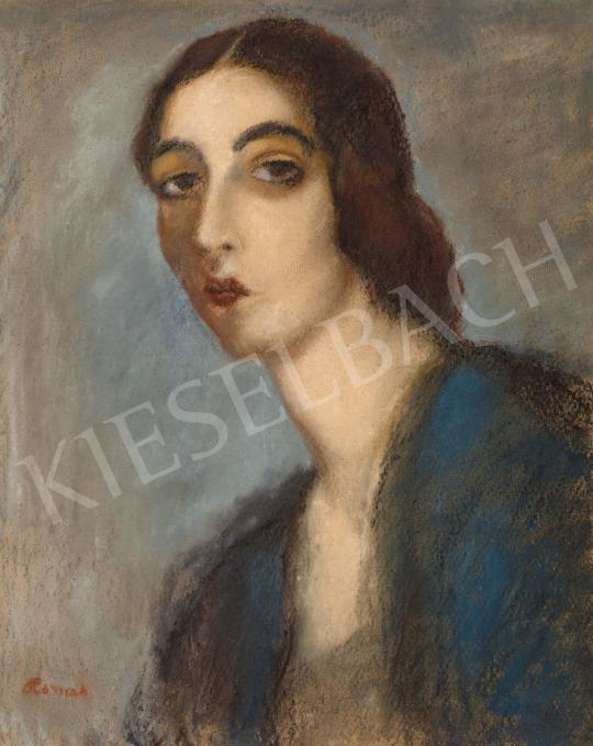 Rippl-Rónai József - Zongoraművésznő (Ticharich Zdenka), 1920-as évek | 57. Téli Aukció aukció / 50 tétel