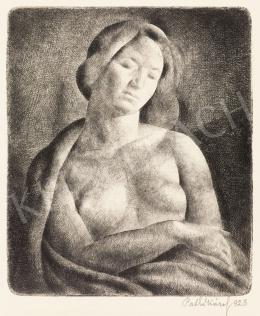 Patkó Károly - Női akt, 1923