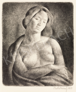 Patkó, Károly - Female Nude, 1923