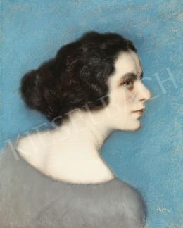 Rippl-Rónai József - Füst Milánné portréja