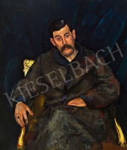 Berény Róbert - Varró István portréja, 1918