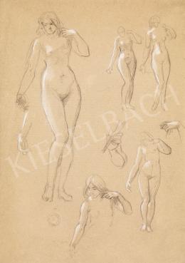 Székely, Bertalan - Female Nudes