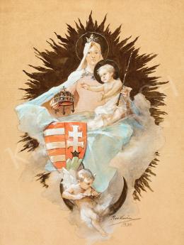 Roskovics, Ignác - Patrona Hungariae, 1900