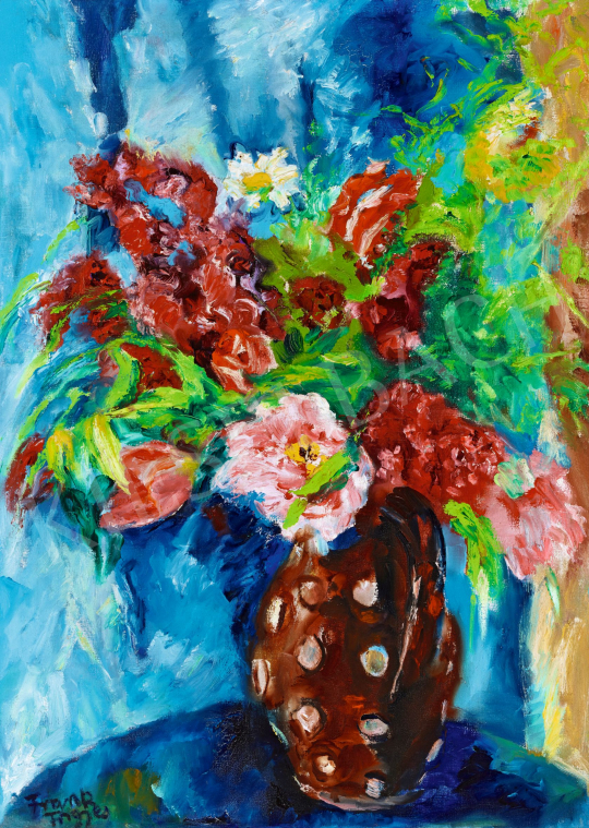 Frank, Frigyes - Still-Life of Flowers | 57th Winter Auction auction / 64 Item