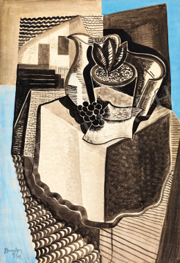 Bene, Géza - Table Still-Life, 1931