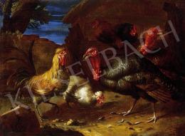 Ismeretlen festő, 17-18. század - Baromfiudvar