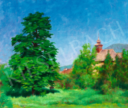 Tagyosi Rátz Péter - Kék ég Nagybányán