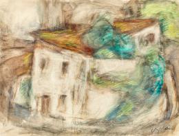 Czóbel Béla - Párizsi házak