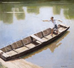 Pólya Iván - Csónakban