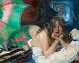 Csók István - Műteremsarok (Délutáni fények a műteremben), 1916