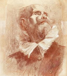 Zichy, Mihály - Falstaff
