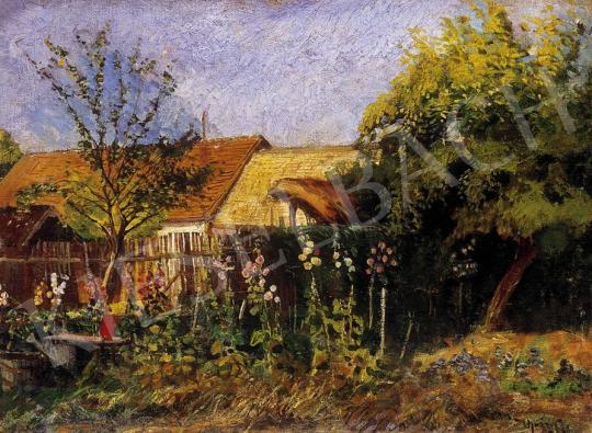 Ujváry, Ignác - Summer garden | 7th Auction auction / 262 Item