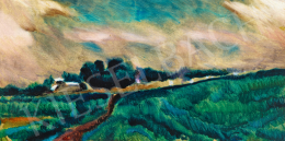 Uitz Béla - Vihar utáni fények, 1916 körül