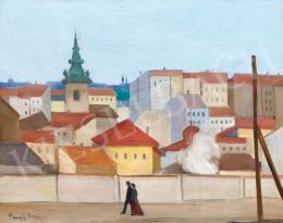 Vaszkó Ödön - Budapest, Krisztinaváros (Vasárnapi séta), 1931