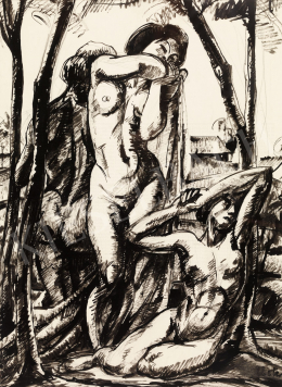 Uitz, Béla - Nude Composition