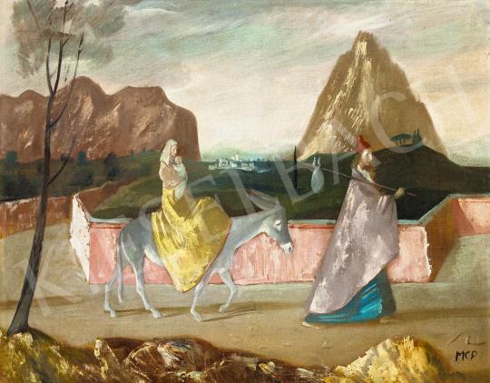 Molnár C. Pál - Menekülés Egyiptomba | 57. Téli Aukció aukció / 205 tétel