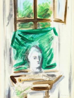 Korniss, Dezső - By the Window, c. 1937