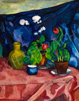 Perlrott Csaba, Vilmos - Studio Still-Life, Middle of 1910s