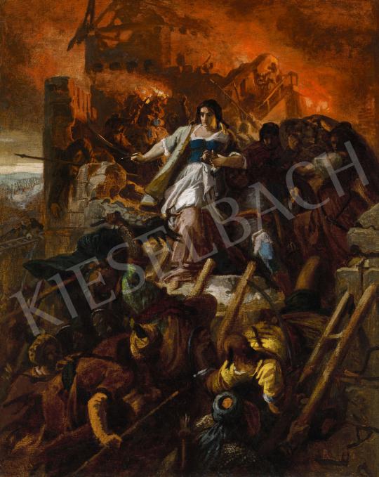 Székely, Bertalan - Women of Eger, 1867   57th Winter Auction auction / 243 Lot