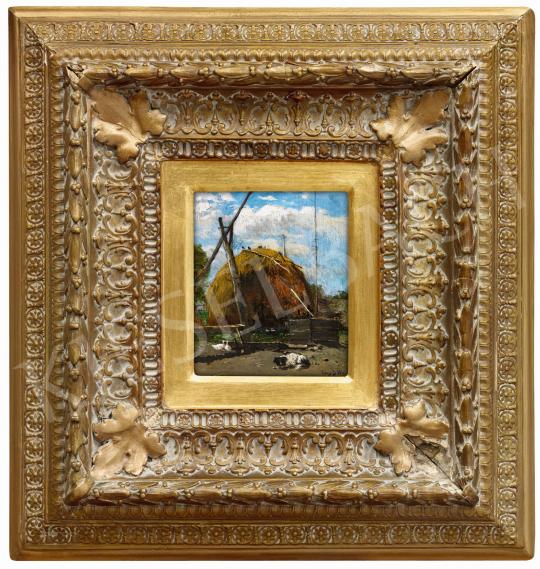 K. Spányi Béla - Déli pihenő (A kutya), 1880   57. Téli Aukció aukció / 73 tétel