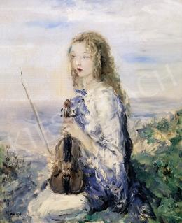 Náray Aurél - A kis zenészlány
