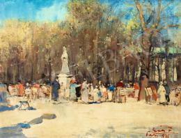 Erdélyi-Gaál Ferenc - Párizsi park, 1935