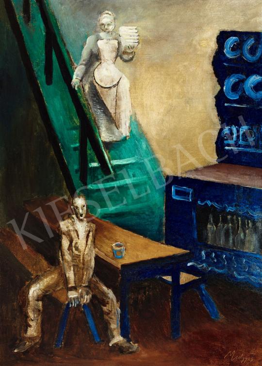 Medgyes László - Párizsi garniszálló, 1920 körül | 57. Téli Aukció aukció / 118 tétel
