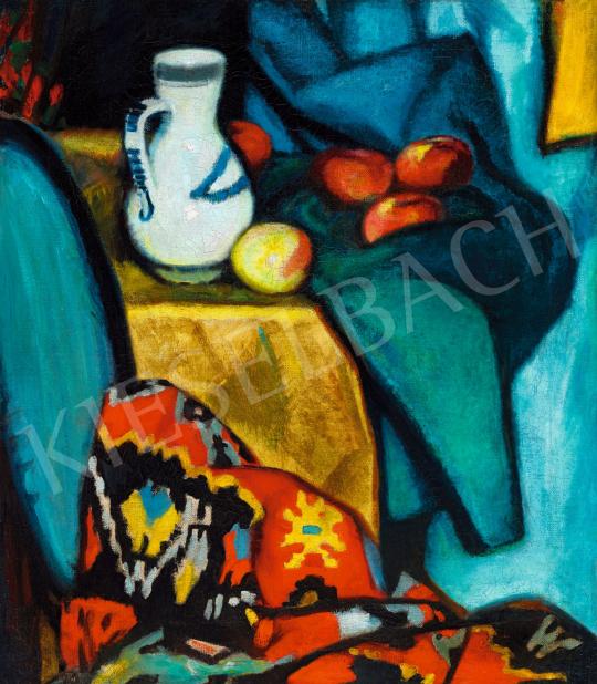 Ismeretlen magyar festő, 1910-es évek - Műtermi csendélet | 57. Téli Aukció aukció / 20 tétel