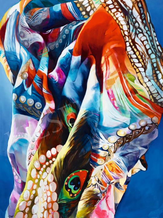 Nagy Boglárka - Szélfútta arab selyemköntös, 2015   57. Téli Aukció aukció / 151 tétel