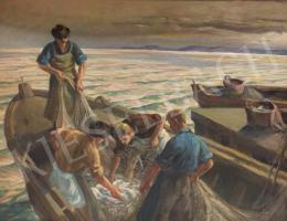 Udvary Pál - Halászok
