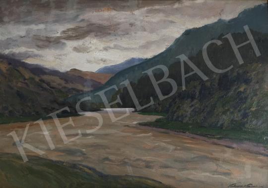 Eladó Katona Nándor - Folyópart festménye
