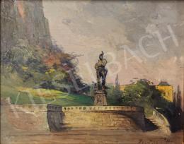 Háry Gyula - Lovag szobor