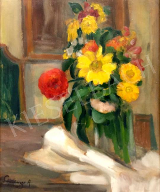 Eladó  Schönberger Armand - Virágcsendélet festménye