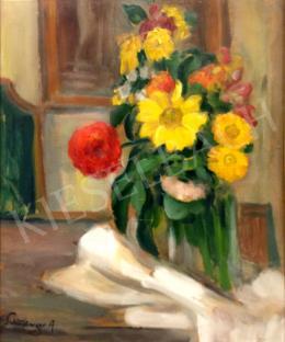 Schönberger Armand - Virágcsendélet