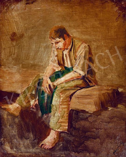 For sale Mednyánszky, László - Vagabond 's painting