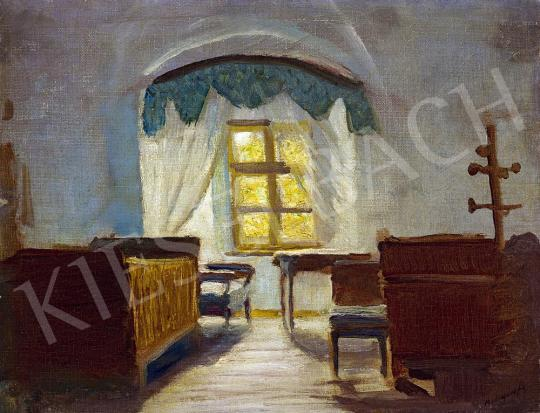 Mednyánszky, László - The Artist's Bedroom in Beczkó painting