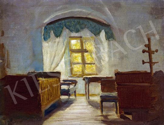 Eladó Mednyánszky László - A művész beczkói hálószobája festménye