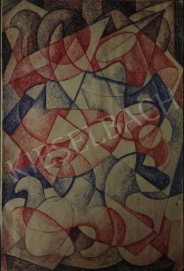 Gábor Jenő - Geometrikus testek, 1967