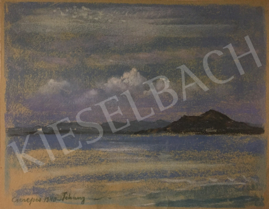 For sale Cserepes, István - Lake Balaton (Tihany), 1940 's painting